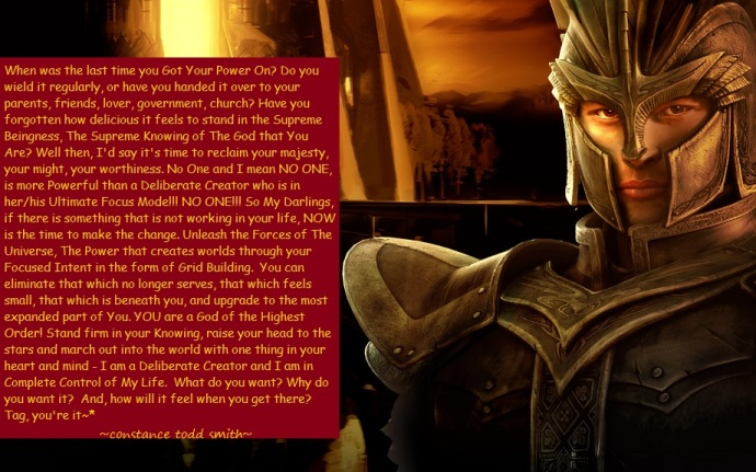 ~Unleash Your Knight Of Deliberate Creation~