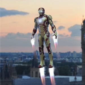 iron man flying