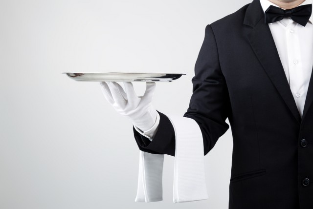 Waiter-Serving-Dish